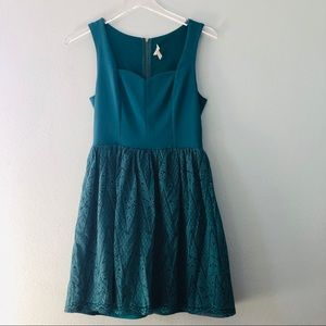 Franchesca's | jade dress lace skirt